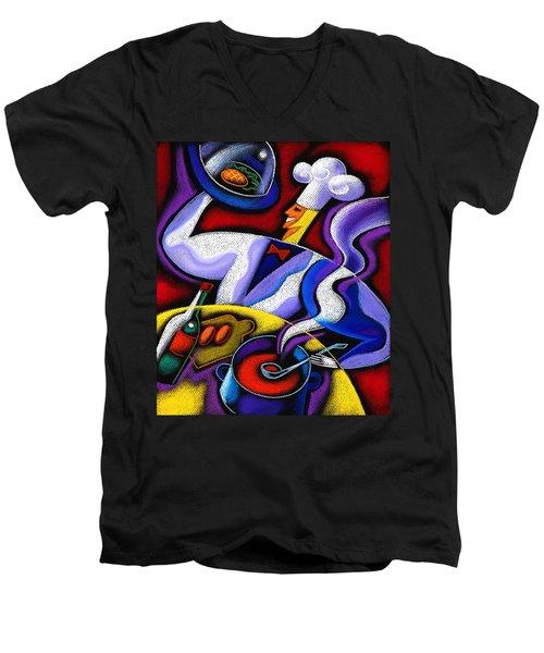 Chef Men's V-Neck T-Shirt