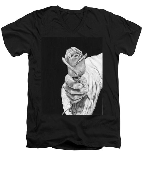 Cherished Men's V-Neck T-Shirt