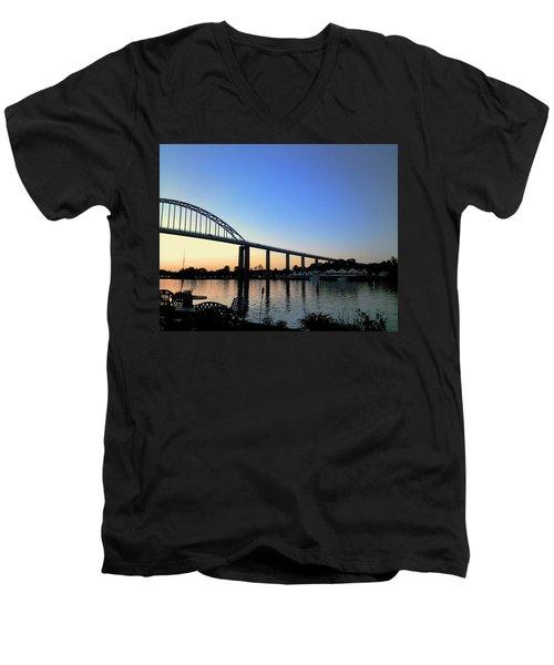 Chesapeake City Men's V-Neck T-Shirt