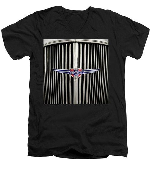 Chevrolet Men's V-Neck T-Shirt