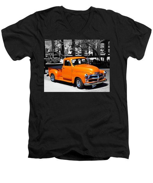 Chevy Pick Up  Men's V-Neck T-Shirt