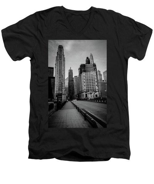 Chi Strolling Men's V-Neck T-Shirt