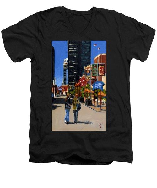 Chicago - Navy Pier Men's V-Neck T-Shirt