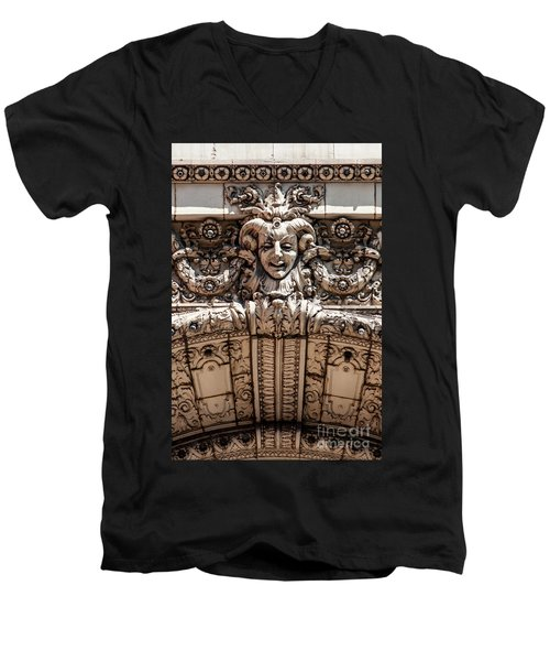 Chicago Theater Jester Men's V-Neck T-Shirt