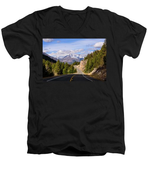Chief Joseph Scenic Highway Men's V-Neck T-Shirt
