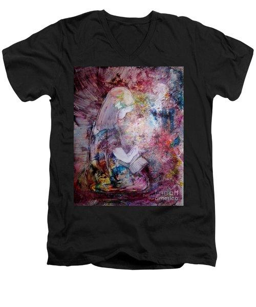 Childlike Faith Men's V-Neck T-Shirt