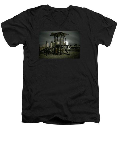 Children's Playground Men's V-Neck T-Shirt