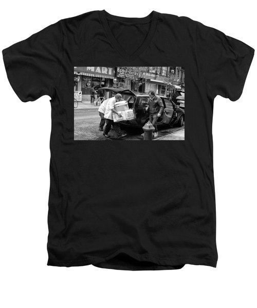 Chinatown Delivery Men's V-Neck T-Shirt