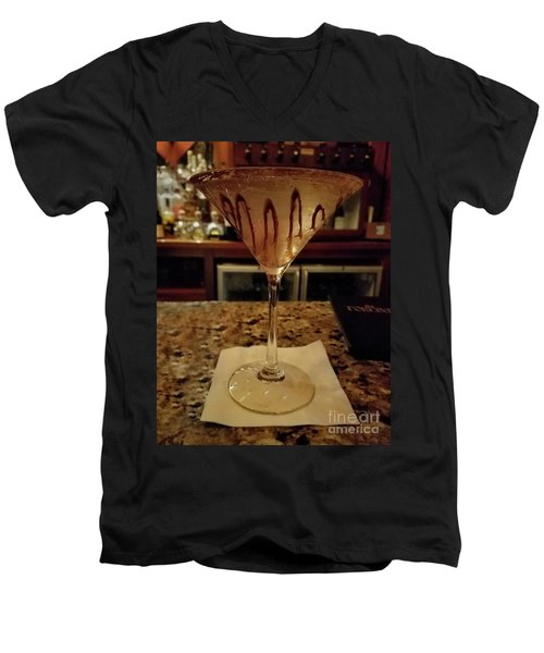 Chocolate Martini Men's V-Neck T-Shirt