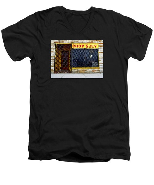 Chop Suey Men's V-Neck T-Shirt