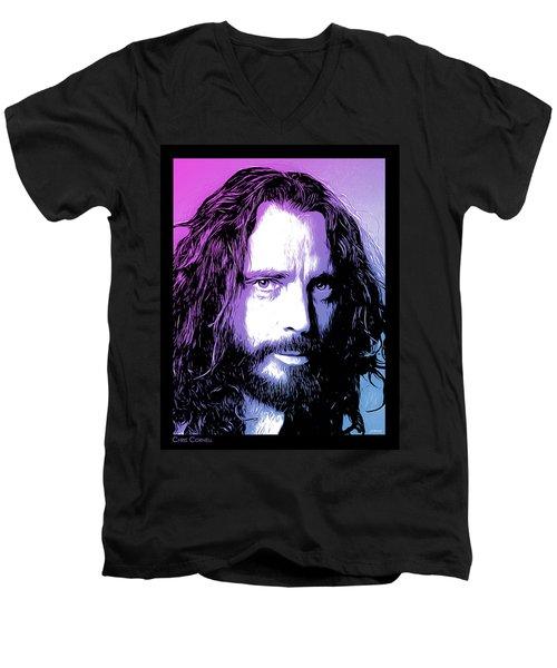 Chris Cornell Tribute Men's V-Neck T-Shirt