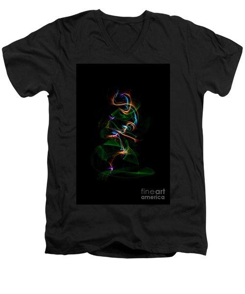 Christmas Tree Men's V-Neck T-Shirt