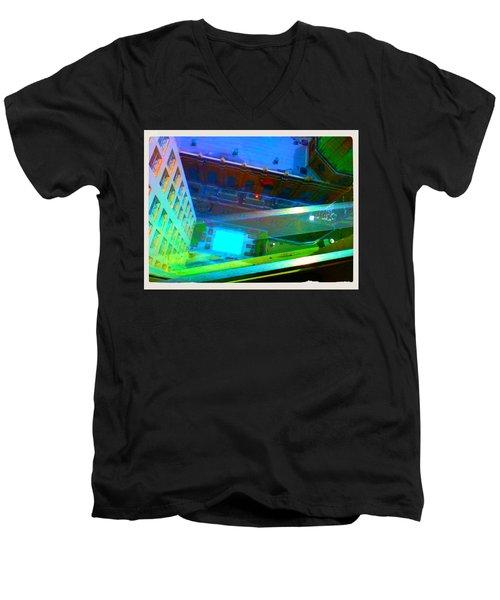 Church Dome  Men's V-Neck T-Shirt