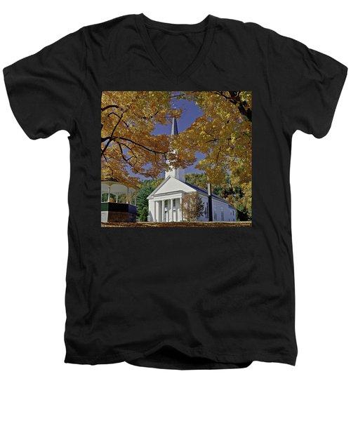 Church, Sharon Vermont Men's V-Neck T-Shirt