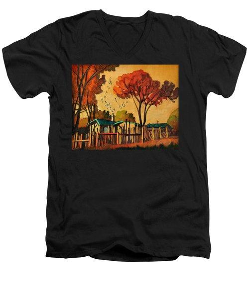 Cia's Music House Men's V-Neck T-Shirt