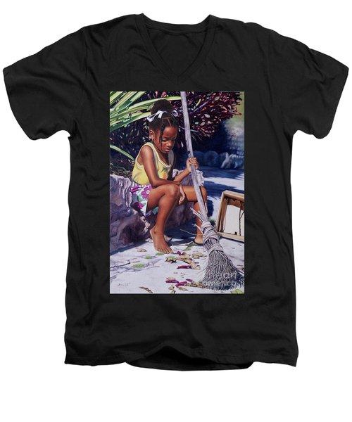 Cinderella II Men's V-Neck T-Shirt