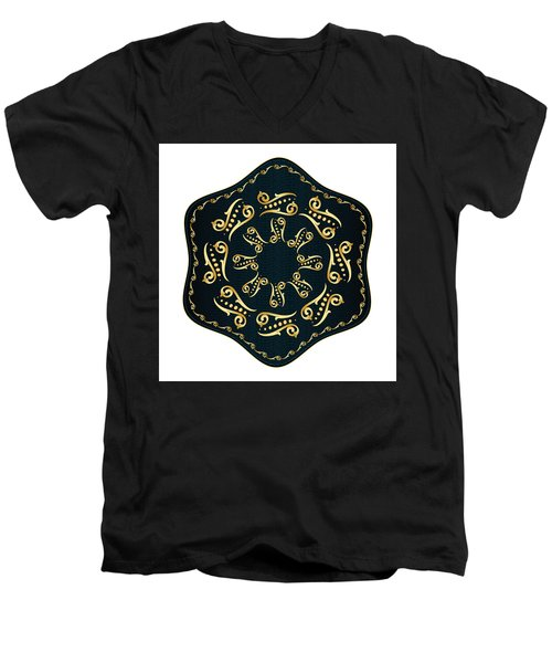 Circularium No. 2560 Men's V-Neck T-Shirt