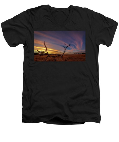 Cirrus Men's V-Neck T-Shirt