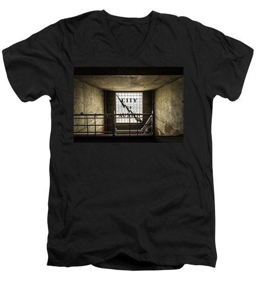 City Of Austin Seaholm Men's V-Neck T-Shirt