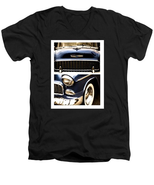 Classic Duo 4 Men's V-Neck T-Shirt by Ryan Weddle