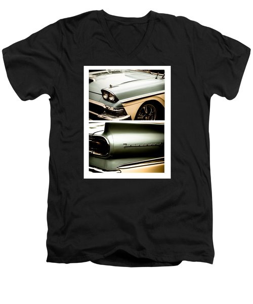 Classic Duo 2 Men's V-Neck T-Shirt by Ryan Weddle
