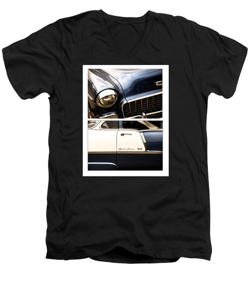 Classic Duo 5 Men's V-Neck T-Shirt by Ryan Weddle