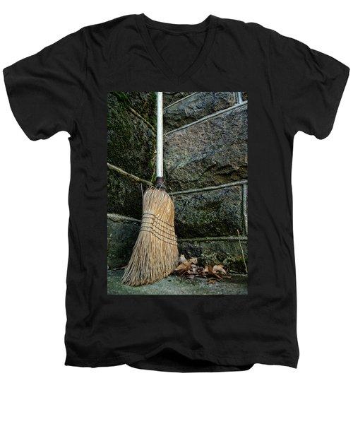 Clean Sweep Men's V-Neck T-Shirt
