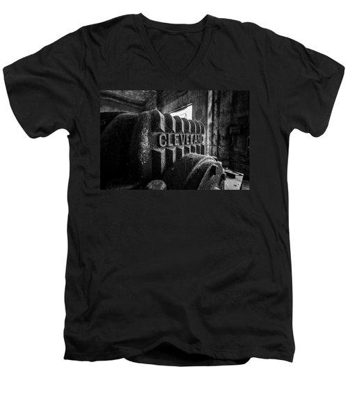 Cleveland Men's V-Neck T-Shirt
