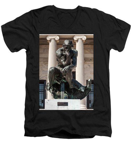 Cleveland Museum Of Art Men's V-Neck T-Shirt