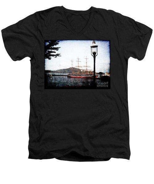 Clipper Ship Men's V-Neck T-Shirt