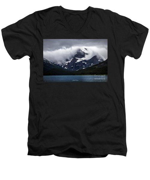 Cloaked In Storm Men's V-Neck T-Shirt