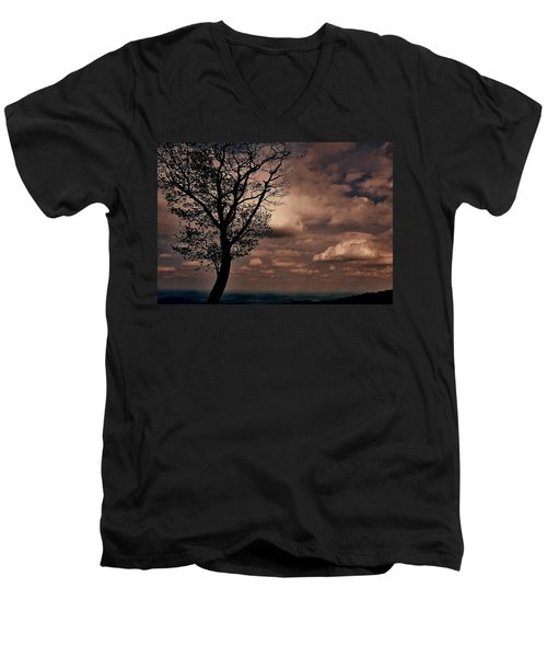 Clouds Over Shenandoah Men's V-Neck T-Shirt
