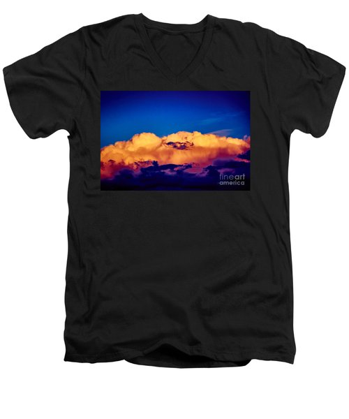Clouds Vi Men's V-Neck T-Shirt