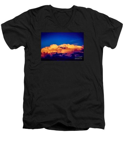Clouds Vi Men's V-Neck T-Shirt