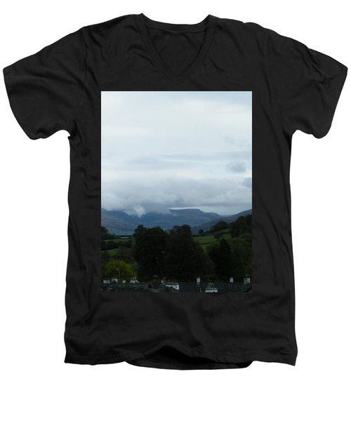 Cloudy View Men's V-Neck T-Shirt