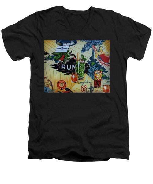 Club Habana Men's V-Neck T-Shirt