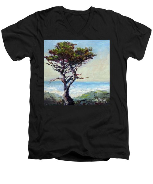Coast Cypress Men's V-Neck T-Shirt