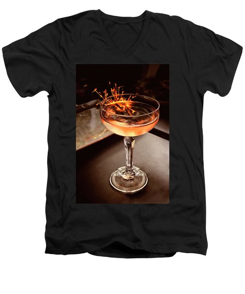Cocktail Dazzle Men's V-Neck T-Shirt