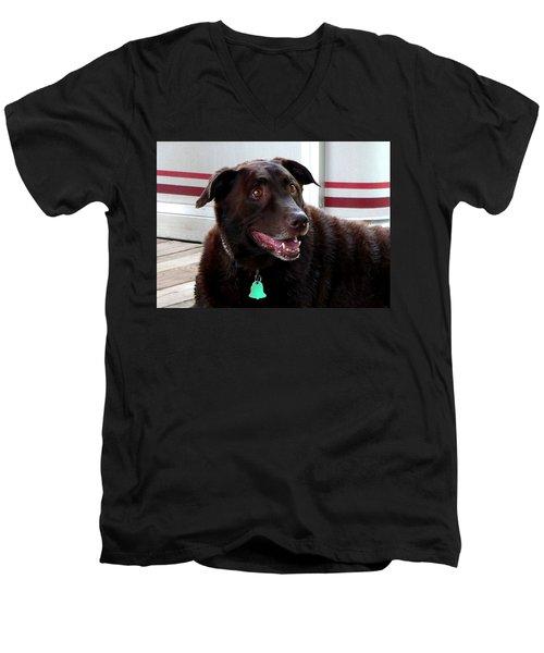 Coco Wooten Men's V-Neck T-Shirt