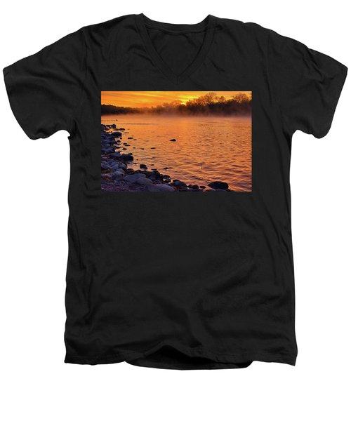 Cold November Morning Men's V-Neck T-Shirt