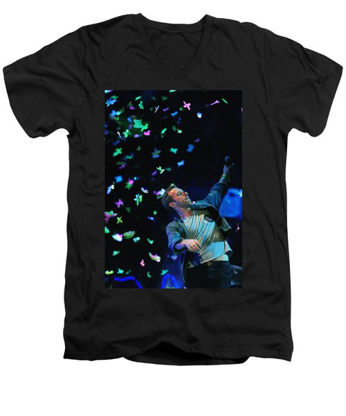 Coldplay1 Men's V-Neck T-Shirt