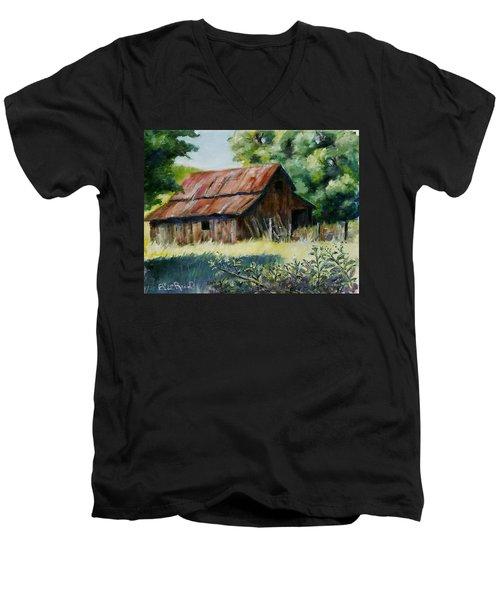 Coloma Barn Men's V-Neck T-Shirt