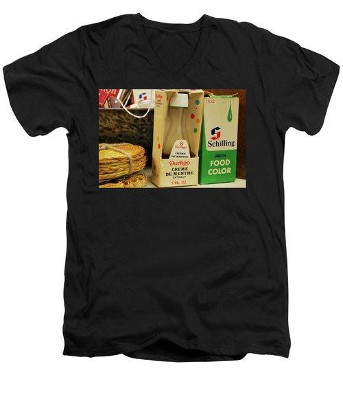 Color Me Old Men's V-Neck T-Shirt