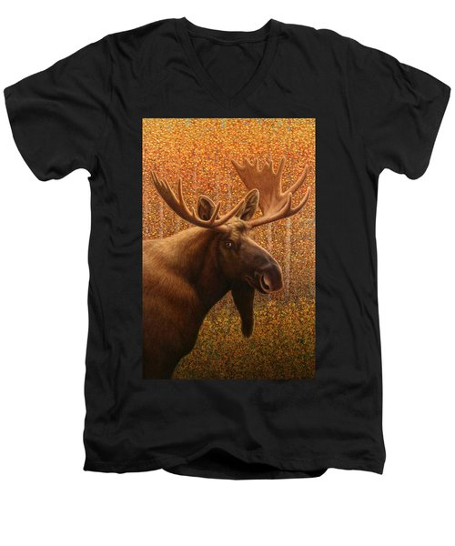 Colorado Moose Men's V-Neck T-Shirt
