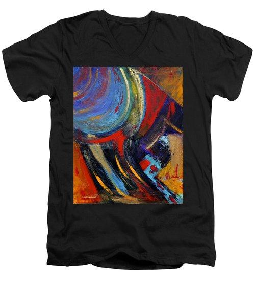 Colors For Emerson Men's V-Neck T-Shirt