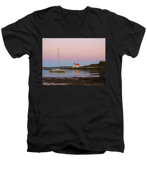 Colors Of Morning Men's V-Neck T-Shirt