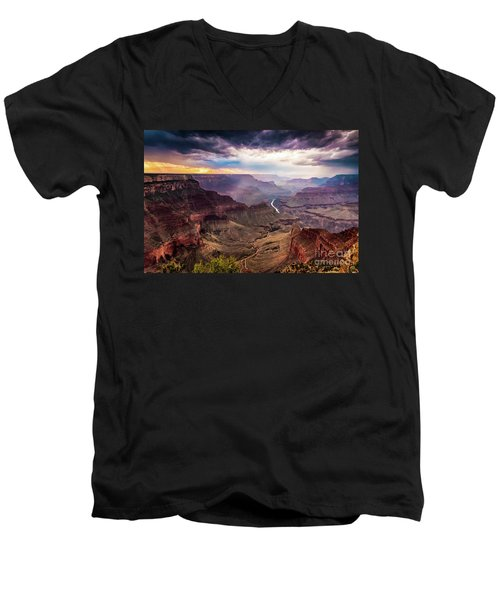 Colors Of The Canyon Men's V-Neck T-Shirt