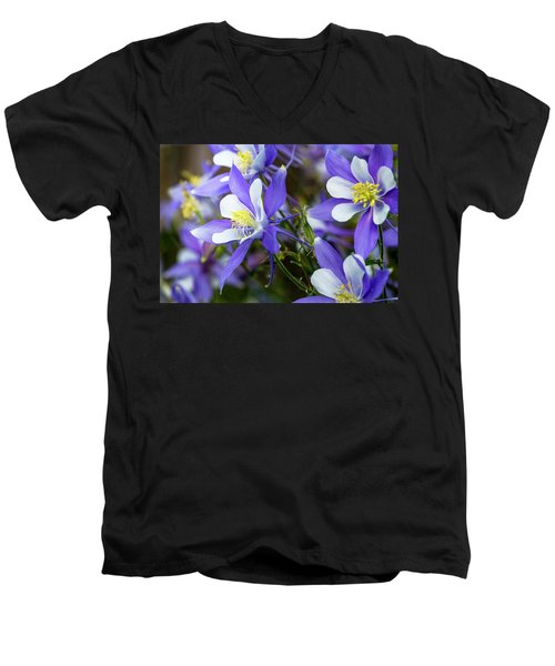 Columbines Men's V-Neck T-Shirt