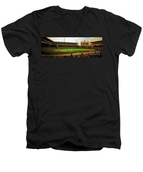 Comiskey Park  Men's V-Neck T-Shirt
