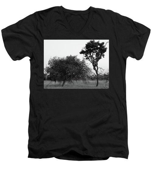 Communion Men's V-Neck T-Shirt by Beto Machado